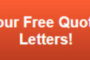 Free quote on channel letters in Orange County CA