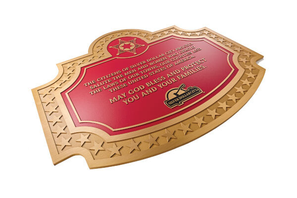 Examples of metal plaques